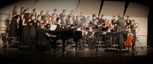 L-S choir performing at a winter concert