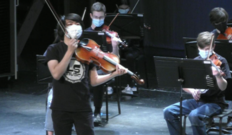 The L-S Music Department hosted a virtual concert Friday.