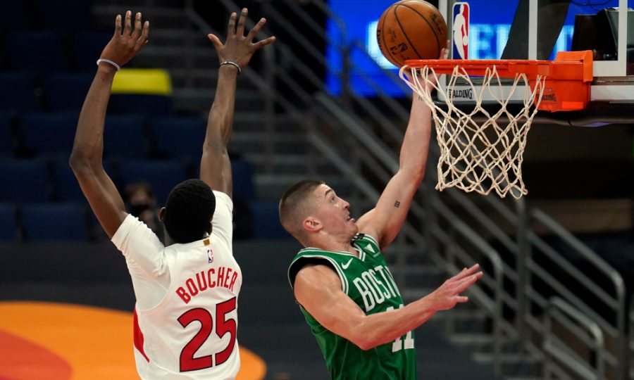 Celtics rookie Payton Pritchard has been a bright spot this season. (AP Photo/Chris O