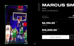 A Marcus Smart collectible, numbered to 99, is listed for over $2,000.