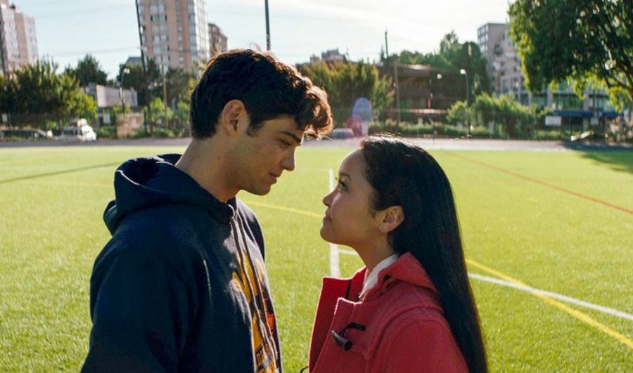 "Lana Condor and Noah Centineo star in the ""To All the Boys"" trilogy."