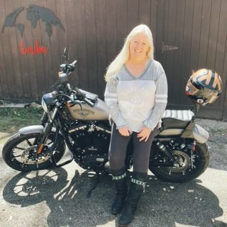Ms. Wilsen is a motorcycle-riding and world-curious mathematician.