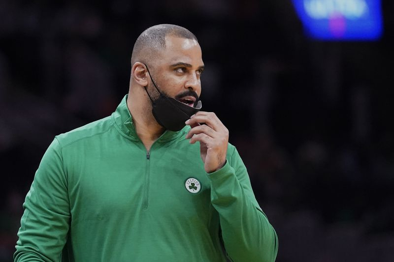 New Celtics Head Coach Ime Udoka looks to lead the team to a championship. Photo courtesy of the Associated Press.